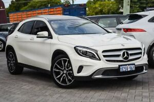 2015 Mercedes-Benz GLA-Class X156 806MY GLA250 DCT 4MATIC White 7 Speed Sports Automatic Dual Clutch Osborne Park Stirling Area Preview