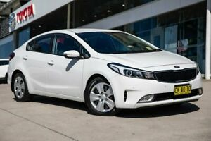 2016 Kia Cerato YD MY17 S White 6 Speed Sports Automatic Sedan Castle Hill The Hills District Preview