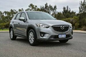 2012 Mazda CX-5 KE1071 Maxx SKYACTIV-Drive Sport Silver 6 Speed Sports Automatic Wagon Cannington Canning Area Preview