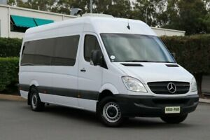 2008 Mercedes-Benz Sprinter NCV3 MY08 315CDI High Roof ELWB White 5 Speed Automatic Van Acacia Ridge Brisbane South West Preview