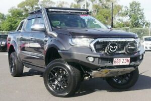2017 Ford Ranger PX MkII XLT Double Cab Grey 6 Speed Sports Automatic Utility Hillcrest Logan Area Preview