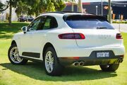 2015 Porsche Macan 95B MY15 S PDK AWD Diesel White 7 Speed Sports Automatic Dual Clutch Wagon Victoria Park Victoria Park Area Preview