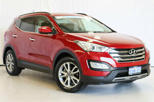 2013 Hyundai Santa Fe DM MY13 Elite Red 6 Speed Sports Automatic Wagon Wangara Wanneroo Area Preview