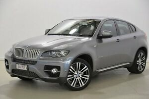2010 BMW X6 E71 MY11 xDrive40d Coupe Steptronic Grey 8 Speed Sports Automatic Wagon Mansfield Brisbane South East Preview