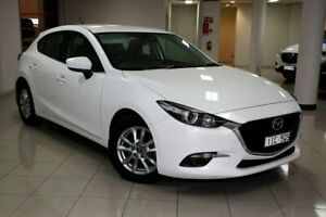 2016 Mazda 3 BN5478 Maxx SKYACTIV-Drive White 6 Speed Sports Automatic Hatchback South Melbourne Port Phillip Preview