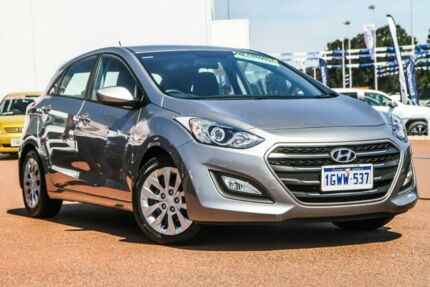 2015 Hyundai i30 GD3 Series II MY16 Active Silver 6 Speed Sports Automatic Hatchback Rockingham Rockingham Area Preview