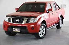 2013 Nissan Navara D40 S6 MY12 ST-X King Cab Red 6 Speed Manual Cab Chassis Robina Gold Coast South Preview