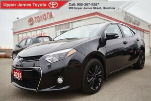 2015 Toyota Corolla S - 50th Anniversary Edition with Moonroof
