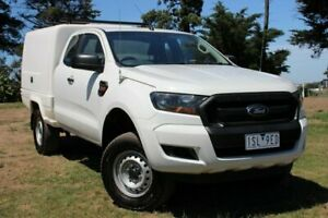 2015 Ford Ranger PX MkII XL White 6 Speed Manual Cab Chassis Officer Cardinia Area Preview