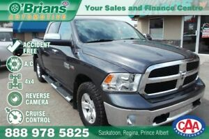 2015 Ram 1500 SLT  - Accident Free w/4x4, HEMI