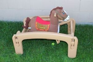 Little Tikes Giddy Up 'N Go Pony Ride-On- COLLECTIBLE/RARE