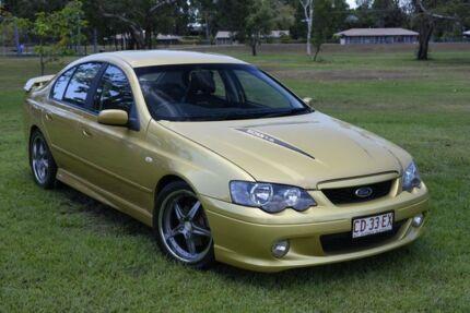 2005 Ford Falcon BA Mk II XR8 Gold 4 Speed Sports Automatic Sedan Winnellie Darwin City Preview