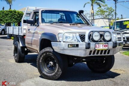 2009 Nissan Patrol GU 6 MY08 ST Gold 5 Speed Manual Cab Chassis Archerfield Brisbane South West Preview