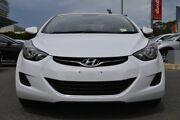 2013 Hyundai Elantra MD2 Active White 6 Speed Sports Automatic Sedan St Marys Mitcham Area Preview