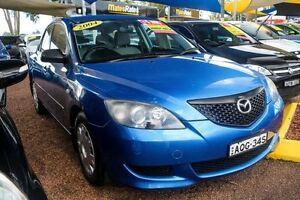 2004 Mazda 3 BK10F1 Neo Blue 5 Speed Manual Hatchback Minchinbury Blacktown Area Preview