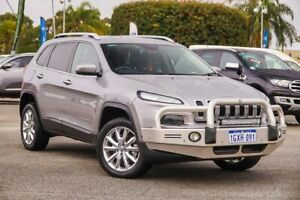 2015 Jeep Cherokee KL MY15 Limited Silver 9 Speed Sports Automatic Wagon Maddington Gosnells Area Preview