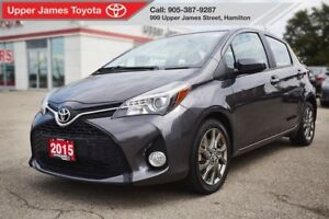 2015 Toyota Yaris SE - Loaded with EXTRA features!