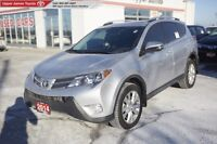 2014 Toyota RAV4 Limited - Low kms!  Carfax Clean.