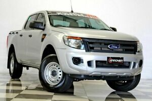 2015 Ford Ranger PX XL 2.2 Hi-Rider (4x2) Silver 6 Speed Automatic Crew Cab Pickup Burleigh Heads Gold Coast South Preview
