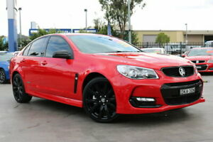 2016 Holden Commodore VF II MY16 SS Black Red 6 Speed Manual Sedan Penrith Penrith Area Preview