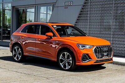 2020 Audi Q3 Premium Plus S line 2020 Audi Q3 Premium Plus S line 8-Speed Automatic with Tiptronic 6455 Miles Pul