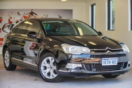 2012 Citroen C5 X7 MY12 Attraction Black 6 Speed Sports Automatic Sedan East Rockingham Rockingham Area Preview