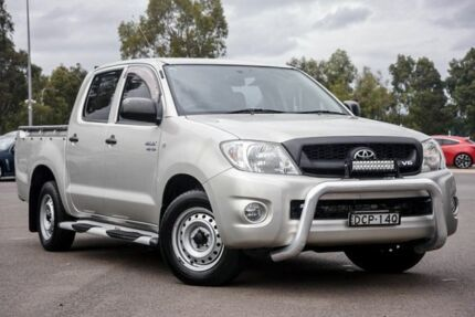 2010 Toyota Hilux GGN15R MY10 SR 4x2 Silver 5 Speed Automatic Utility Penrith Penrith Area Preview