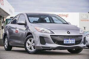 2012 Mazda 3 BL MY13 Neo Silver 5 Speed Automatic Sedan Glendalough Stirling Area Preview