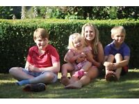 Live-in (or live-out if very local) Aupair / Mothers Help needed - end April to mid August