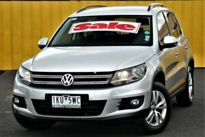 2012 Volkswagen Tiguan 5N MY12.5 132TSI Tiptronic 4MOTION Pacific Silver 6 Speed Sports Automatic Cheltenham Kingston Area Preview
