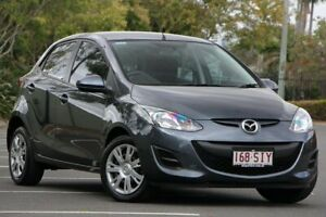 2012 Mazda 2 DE10Y2 MY12 Neo Grey 4 Speed Automatic Hatchback Chermside Brisbane North East Preview