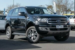 2018 Ford Everest UA II 2019.00MY Trend RWD Black 10 Speed Sports Automatic Wagon Hoppers Crossing Wyndham Area Preview