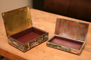 Mexican Silver Mother of Pearl boxes Peterborough Peterborough Area image 7