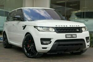 2016 Land Rover Range Rover Sport L494 16MY SDV6 CommandShift HSE Dynamic White 8 Speed Doncaster Manningham Area Preview