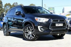 2016 Mitsubishi ASX XB MY15.5 LS 2WD Black 6 Speed Constant Variable Wagon Liverpool Liverpool Area Preview