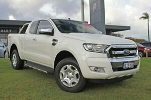 2017 Ford Ranger PX MkII XLT Super Cab White 6 Speed Sports Automatic Utility Wangara Wanneroo Area Preview