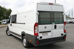 2011 Fiat Ducato Series II MY10 JTD Mid Roof XLWB White 6 Speed Manual Van Acacia Ridge Brisbane South West Preview