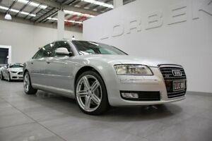 2009 Audi A8 4E L 4.2 Quattro Ice Silver 6 Speed Tiptronic Sedan Port Melbourne Port Phillip Preview