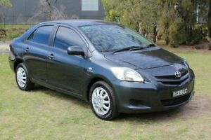 2007 Toyota Yaris NCP93R YRS Grey 4 Speed Automatic Sedan Ormeau Gold Coast North Preview