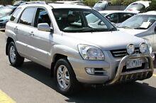 2008 Kia Sportage KM EX (4x4) Silver 6 Speed Manual Wagon Ringwood East Maroondah Area Preview