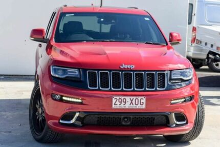 2015 Jeep Grand Cherokee WK MY15 SRT Red 8 Speed Sports Automatic Wagon