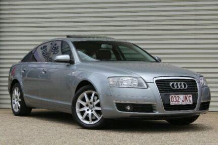 2008 Audi A6 4F MY09 Multitronic Grey Sedan Virginia Brisbane North East Preview
