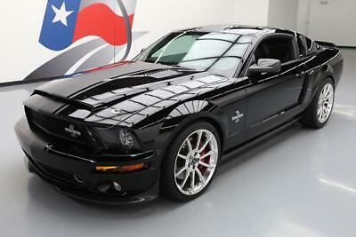 2008 Ford Mustang Shelby Gt500 Coupe 2 Door 2008 Ford Shelby Gt500 Super Snake S C 6 Spd 20S 6K Mi  142662 Texas Direct