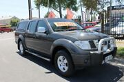 2007 Nissan Navara D40 ST-X (4x4) Grey 6 Speed Manual Dual Cab Pick-up Klemzig Port Adelaide Area Preview