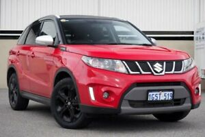 2016 Suzuki Vitara LY S Turbo (2WD) Red 6 Speed Automatic Wagon Cannington Canning Area Preview