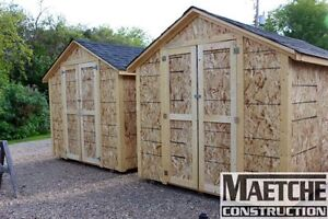 8ft x 12ft Shed by Maetche Construction