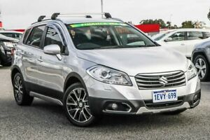 2014 Suzuki S-Cross JY GLX 4WD Silver 7 Speed Constant Variable Hatchback Cannington Canning Area Preview