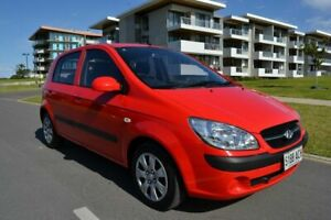 2009 Hyundai Getz TB MY09 SX Red 4 Speed Automatic Hatchback Somerton Park Holdfast Bay Preview