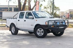 2011 Nissan Navara D22 S5 MY12 ST-R Special Edition White 5 Speed Manual Utility Penrith Penrith Area Preview