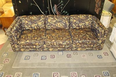 Retro Selig Jack Lenor Larsen Couch/Sofa Mid Century Rare Larsen Fabric 1950-60s for sale  Aurora